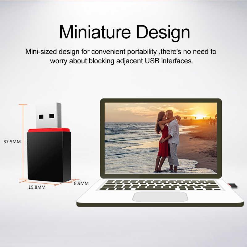 Adaptador Mini U3 USB Wi-Fi U3 300Mbps Tenda