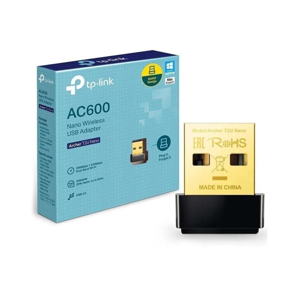Adaptador Usb de Rede Wireless Dual Band AC600 TP-LINK
