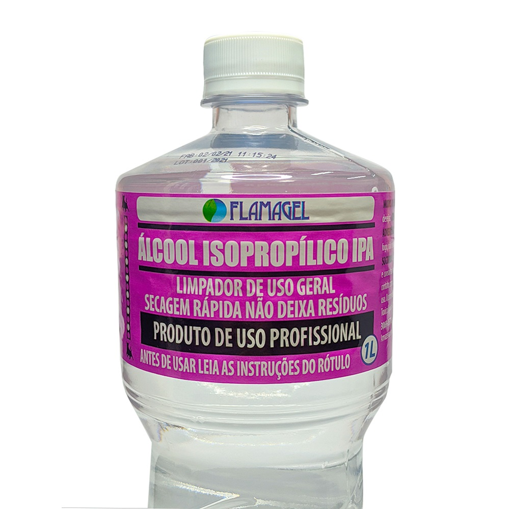 Alcool Isopropilico 1000ML Flamagel