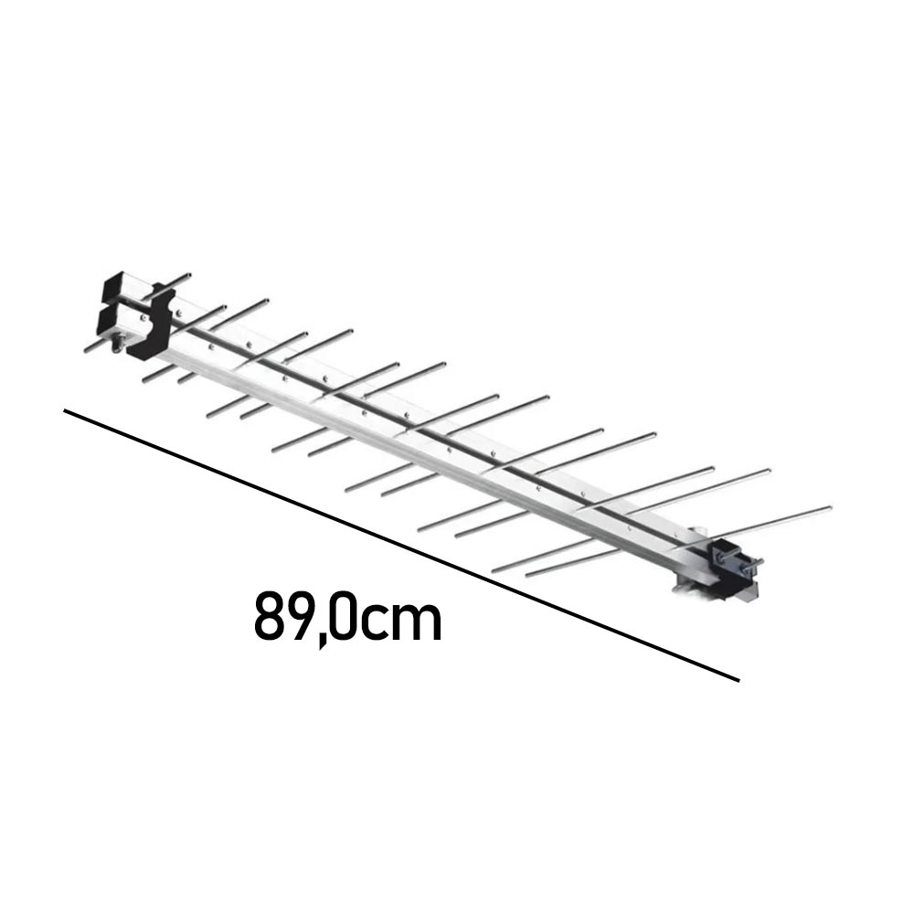 Antena Digital Externa 89cm s/ cx
