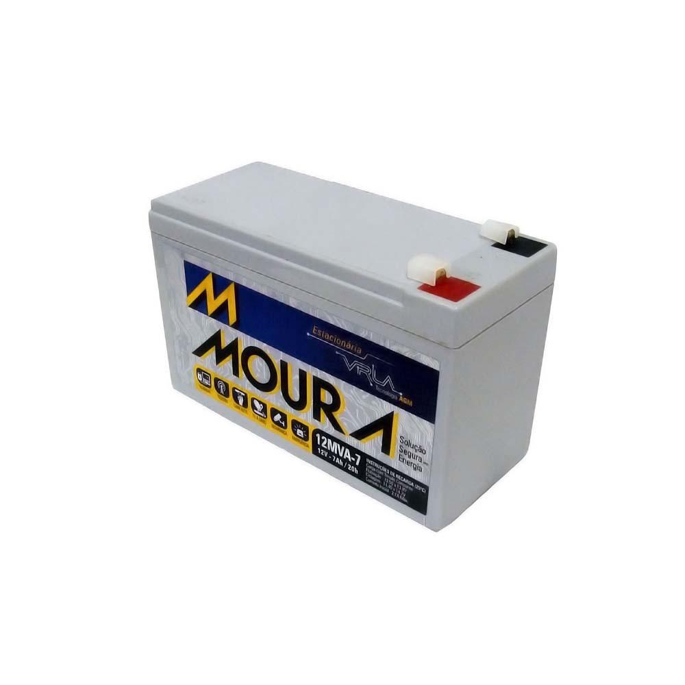 Bateria Selada 12v 7amp 12MVA-7 Moura