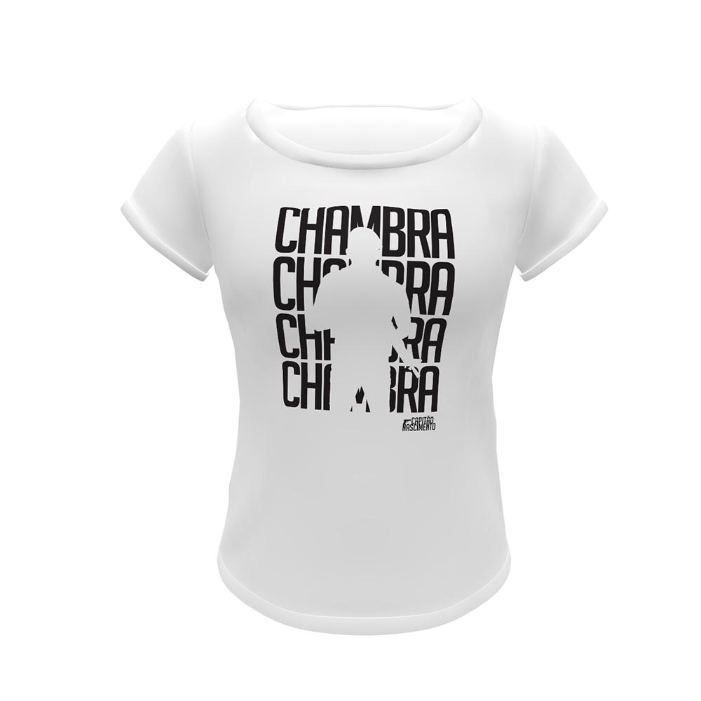 Camisa Capitão Nascimento Feminina Branca CNK