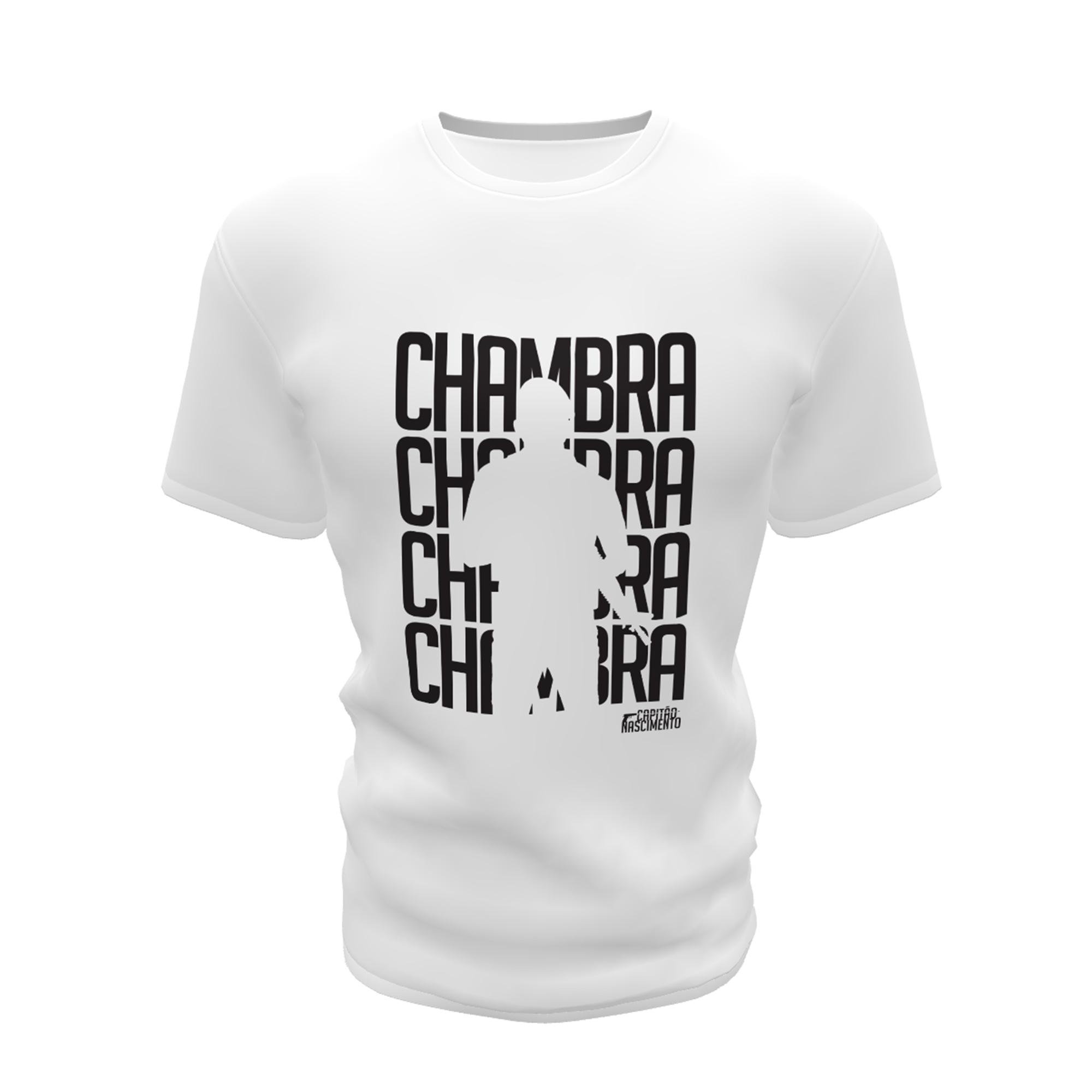 Camisa Capitão Nascimento Masculina Branca CNK