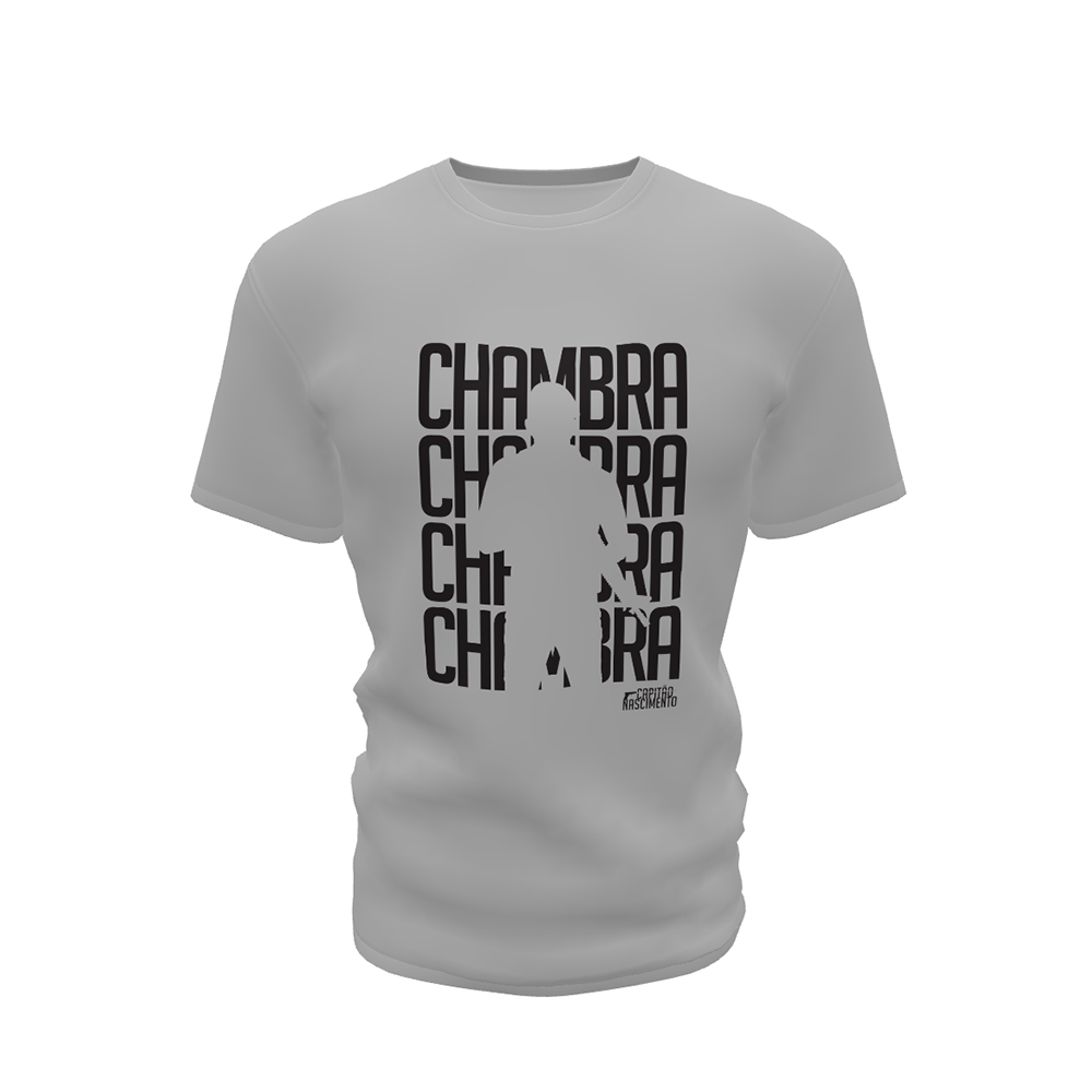 Camisa Capitão Nascimento Masculina Cinza CNK