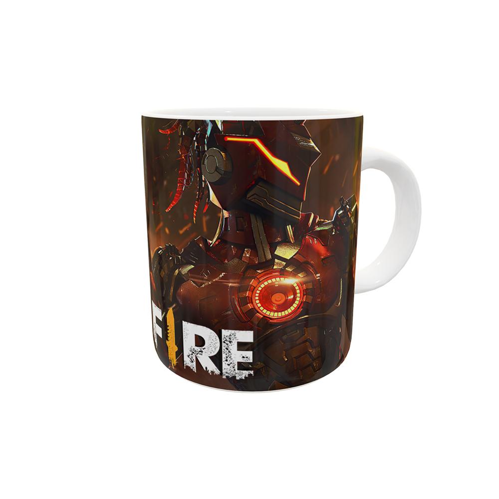 Caneca Free Fire Redenção e Fúria