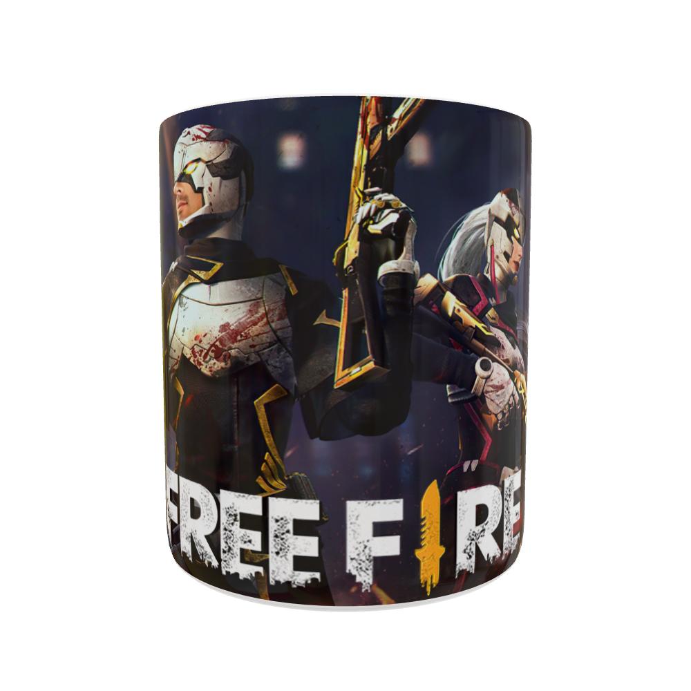 Caneca Free Fire Soldados