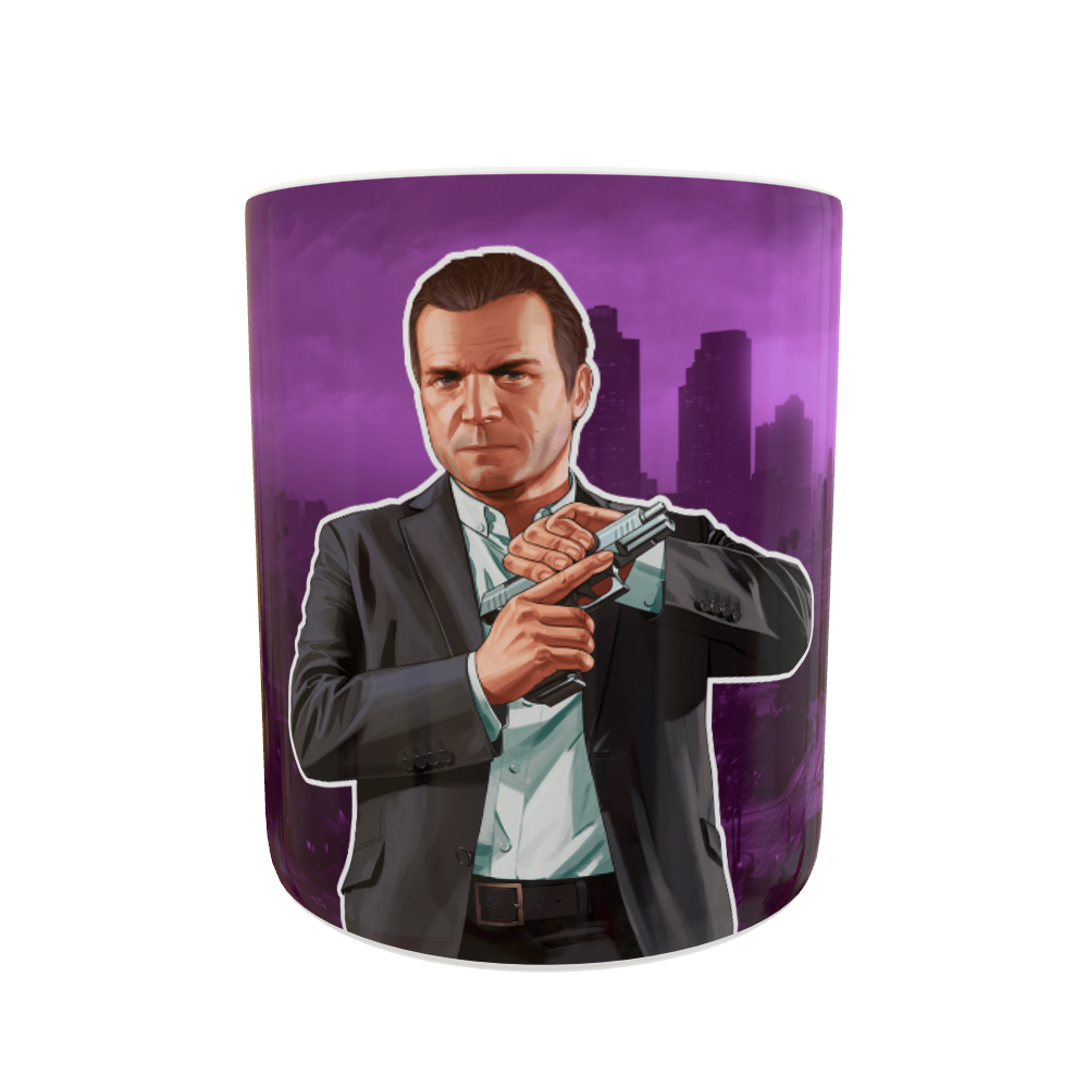Caneca Grand Theft Auto V Michael