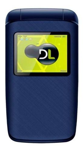 Celular Dual Chip Flip Azul YC-335 DL