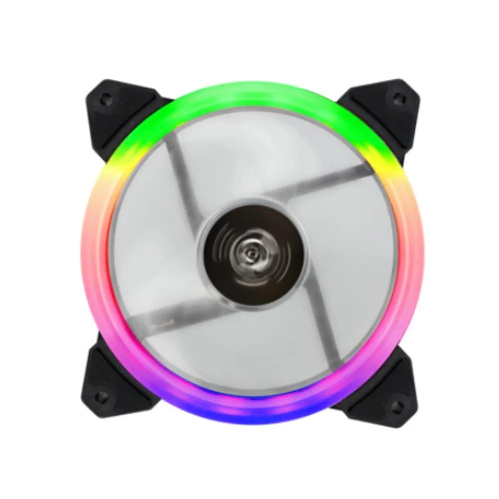 Cooler FAN 120x120x25mm RGB CL-120C Hoopson