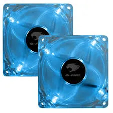 Cooler FAN Azul 80x80x25mm EW0408-L