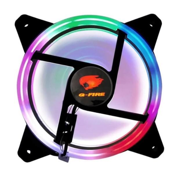 Cooler FAN Rainbow 120x120x25mm EW0509-R