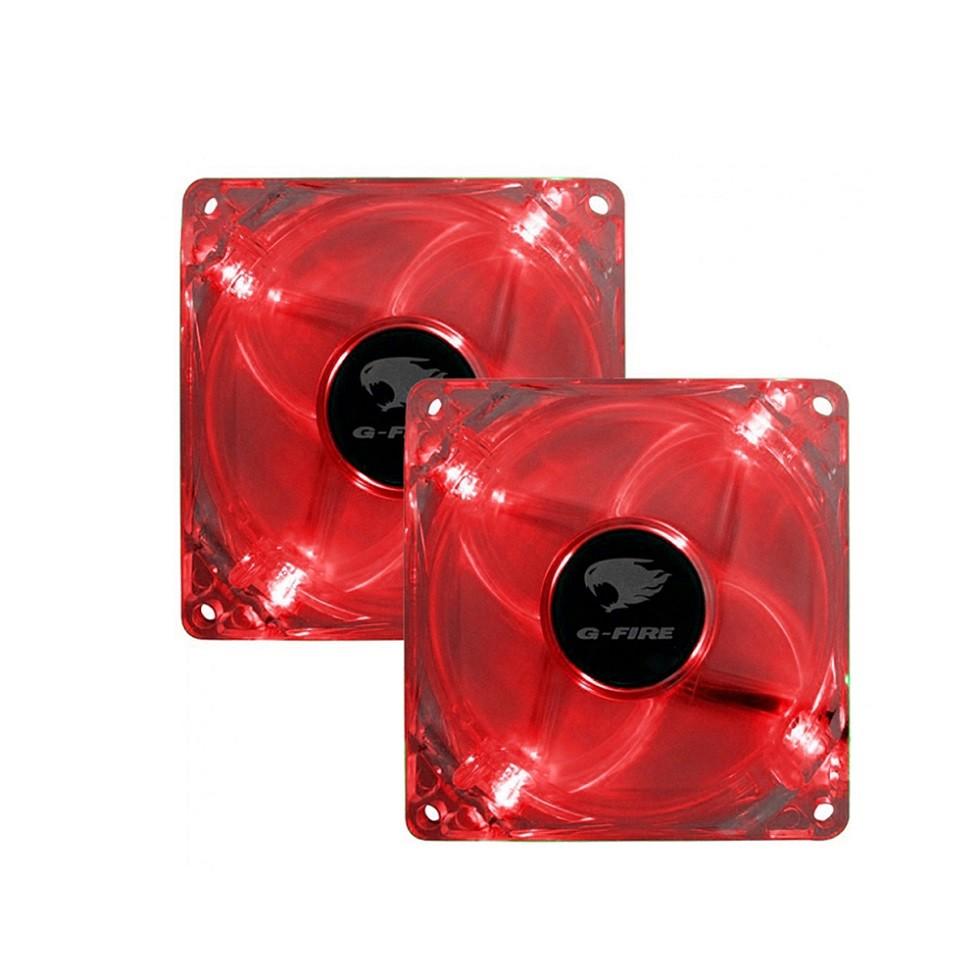 Cooler FAN Vermelho 80x80x25mm EW0408-E