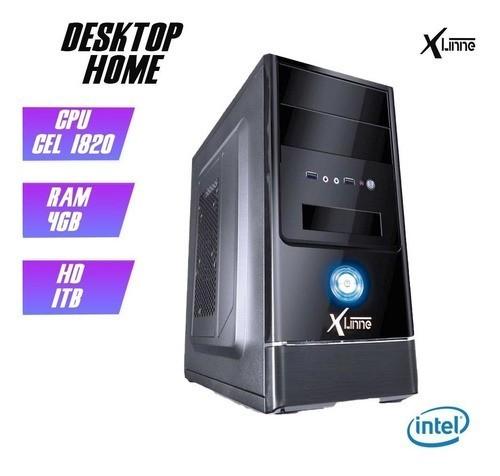 Desktop 1150 Home Cel 1820 DDR3 4GB HD 1TB X-Linne