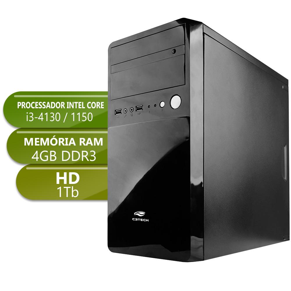 Desktop 1150 Home I3 4130 DDR3 4Gb HD 1TB X-Linne