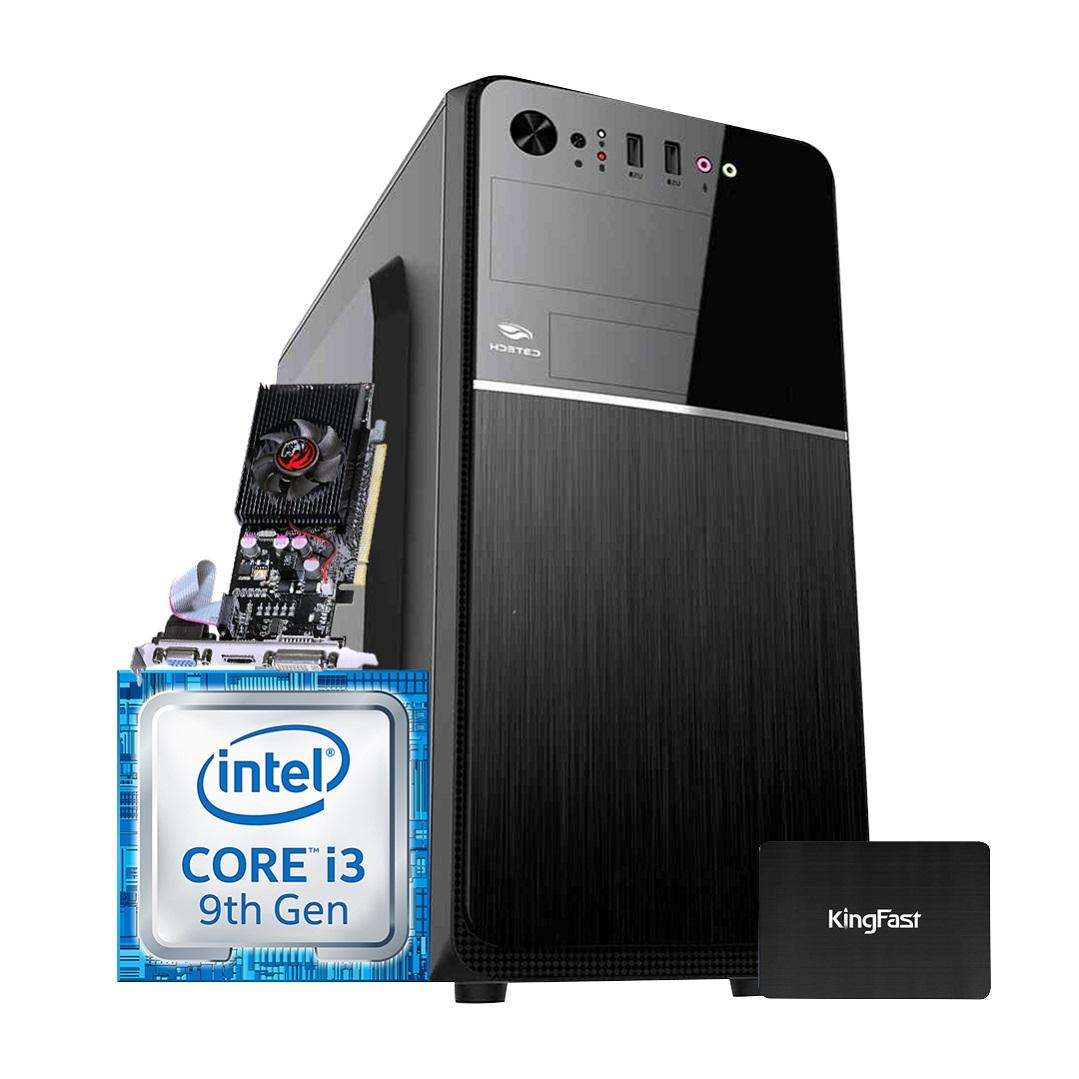 Desktop 1151 Home I3 9100F DDR4 4GB SSD 240GB VGA 1GB  X-Linne