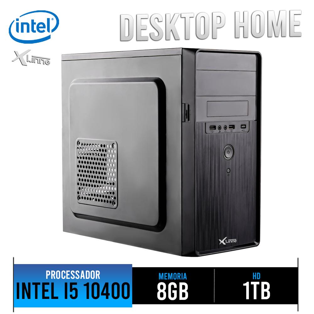 Desktop 1151 Home I5 10400 DDR4 8GB HD 1TB X-Linne