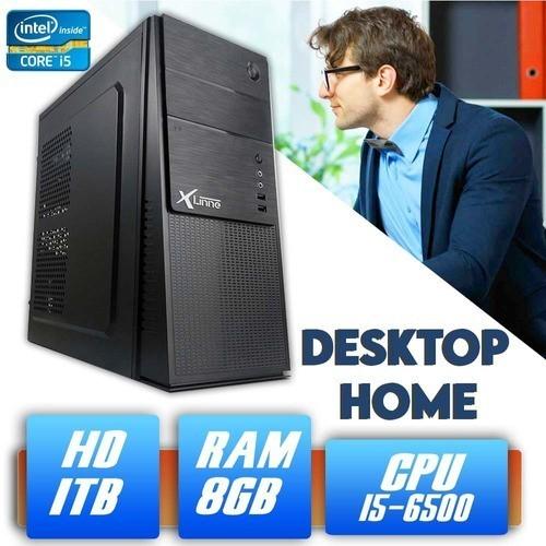Desktop 1151 Home I5 6500 DDR3 8GB HD 1 Tera X-Linne