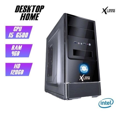 Desktop 1151 Home i5 6500 DDR4 4GB SSD 120GB X-Linne