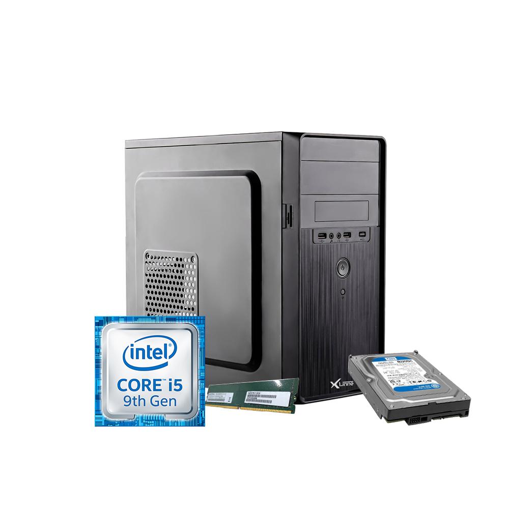 Desktop 1151 Home i5 9400 H310 DDR4 8GB HD 500GB X-Linne