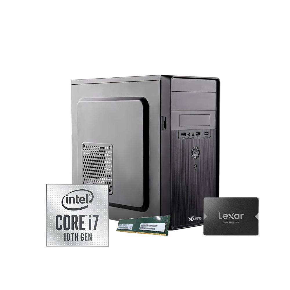 Desktop 1151 Home I7 10700 DDR4 8GB SSD 512GB X-Linne