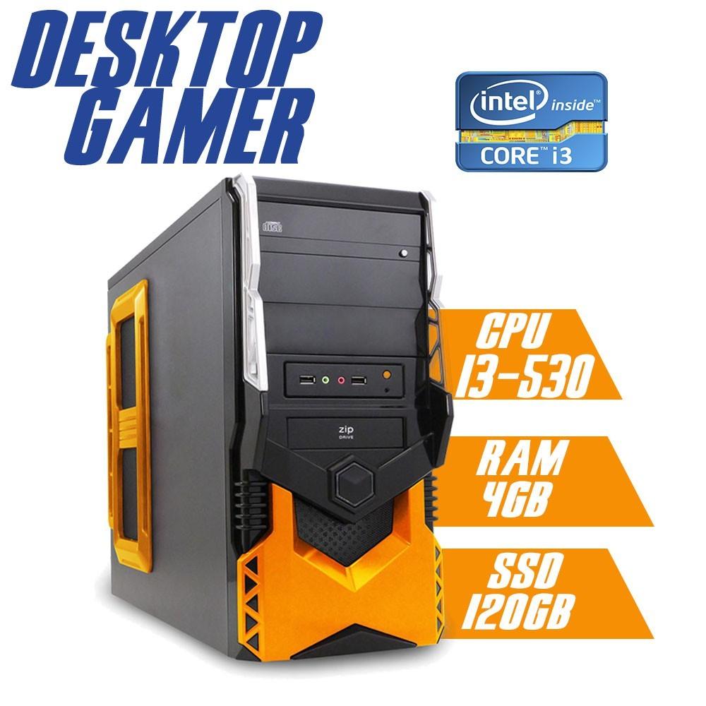 Desktop 1155 Gamer HT5A250 i3 8GB SSD 120GB GT210 1GB X-Linne