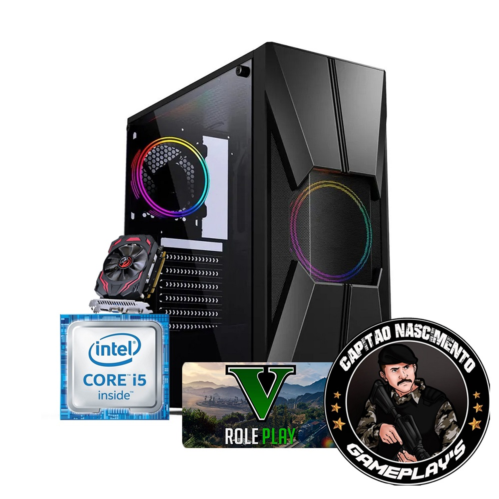 Desktop 1155 Gamer i5 3470 16GB R7 240 2GB CGG17B CN2 X-Linne