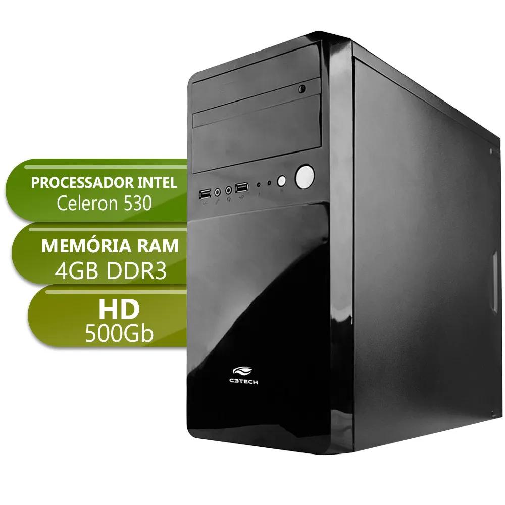 Desktop 1155 Home Celeron DDR3 4GB HD 500GB X-Linne
