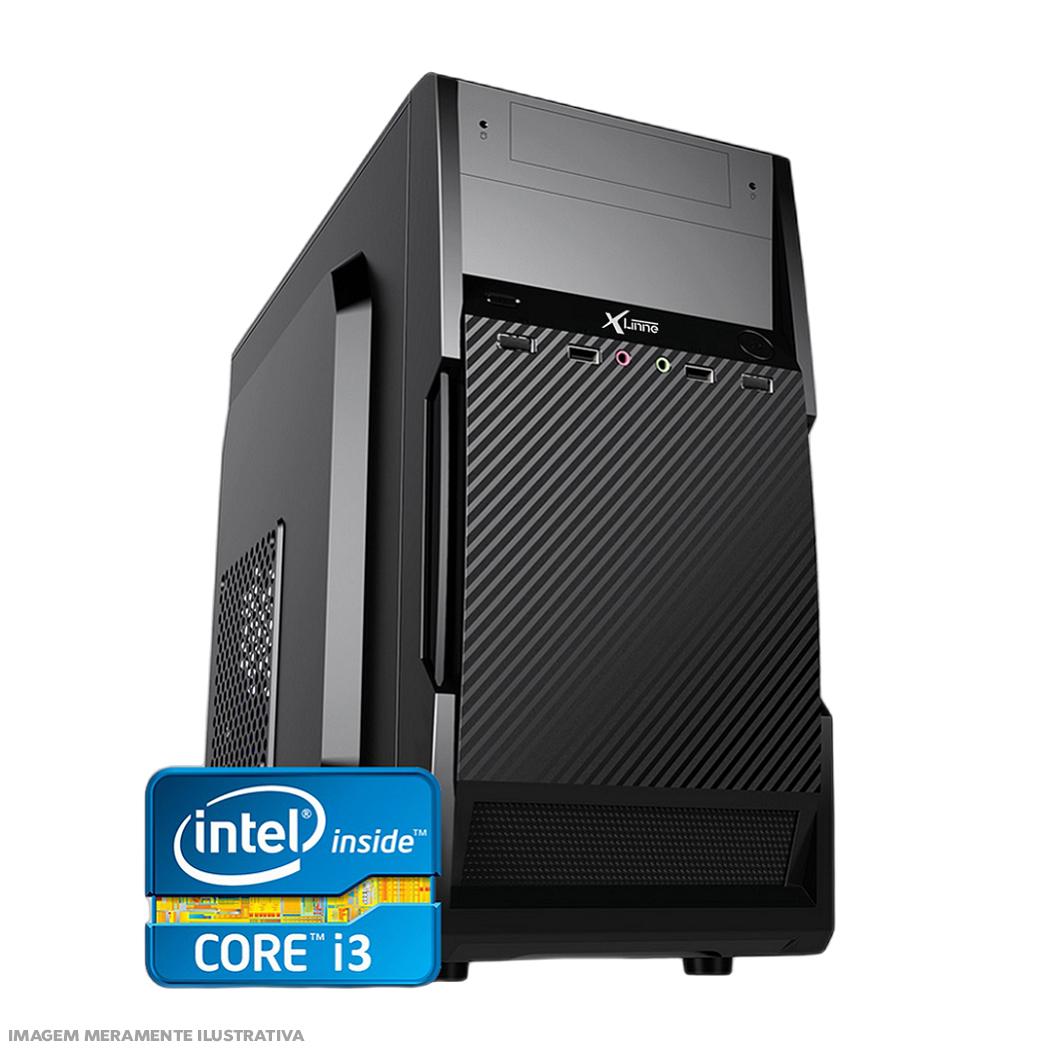 Desktop 1155 Home I3 2100 DDR3 4GB SSD 120 X-Linne