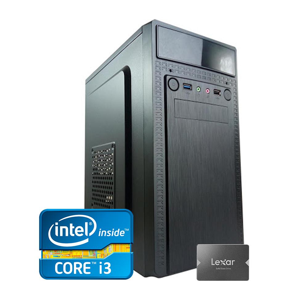 Desktop 1155 Home i3 2100 DDR3 4GB SSD 256GB WIN10 X-Linne