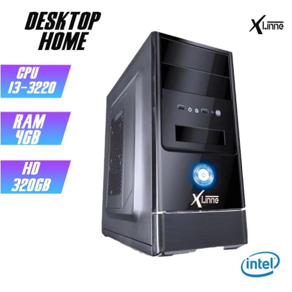 Desktop 1155 Home I3 3220 DDR3 4GB HD 320Gb X-Linne