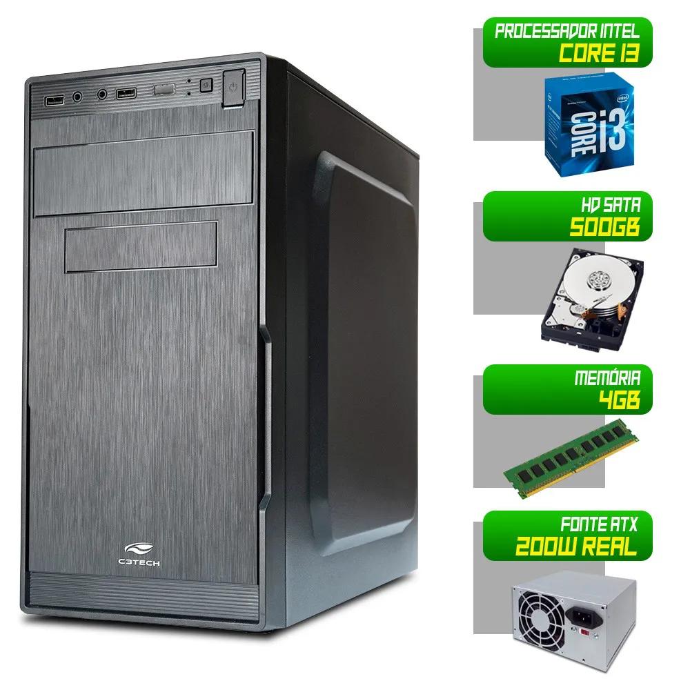 Desktop 1155 Home I3 3220 DDR3 4GB HD 500Gb X-Linne