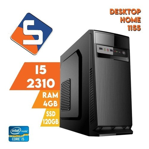 Desktop 1155 Home I5 2310 DDR3 4GB SSD 120GB X-Linne