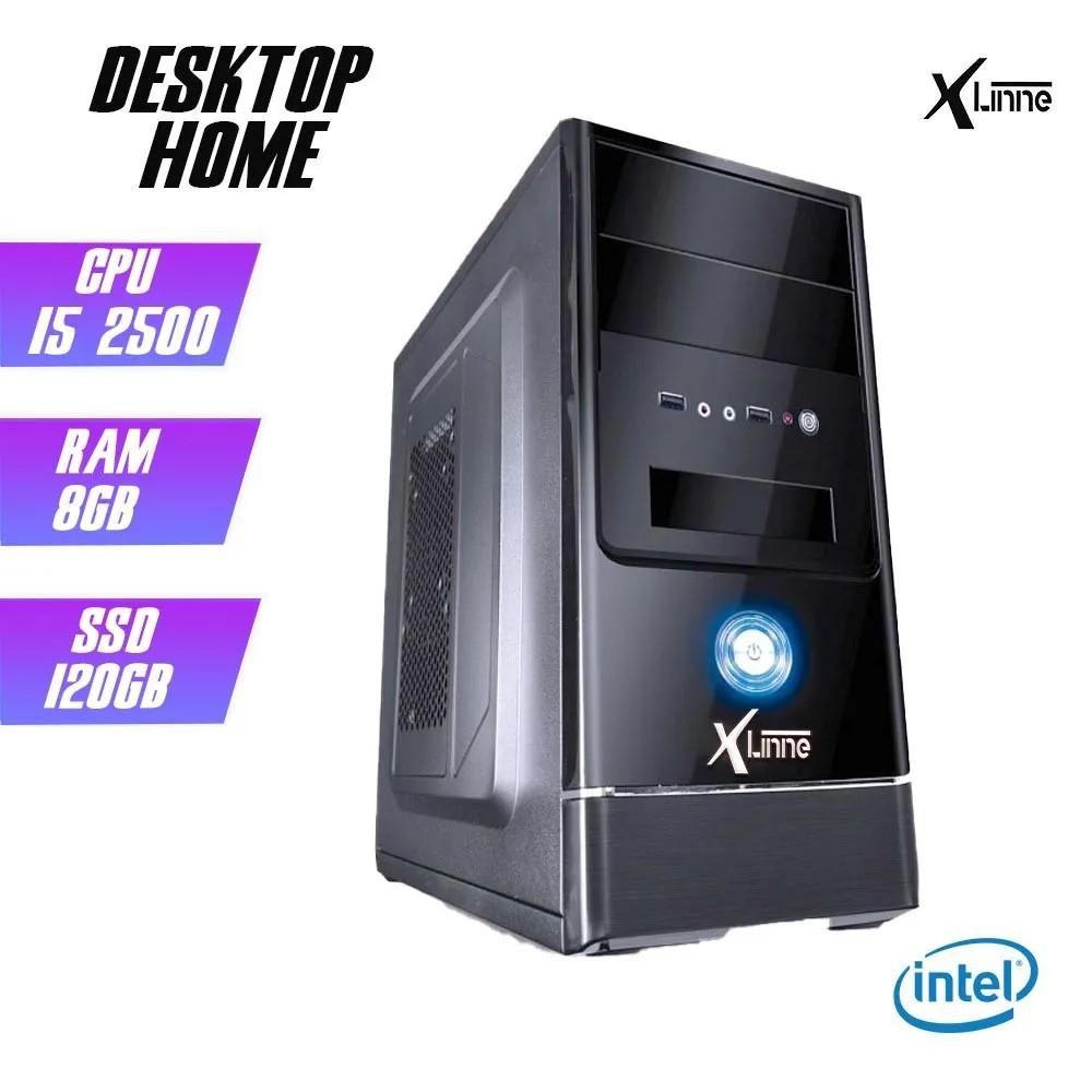 Desktop 1155 Home I5 2500 DDR3 8GB SSD 120GB X-Linne