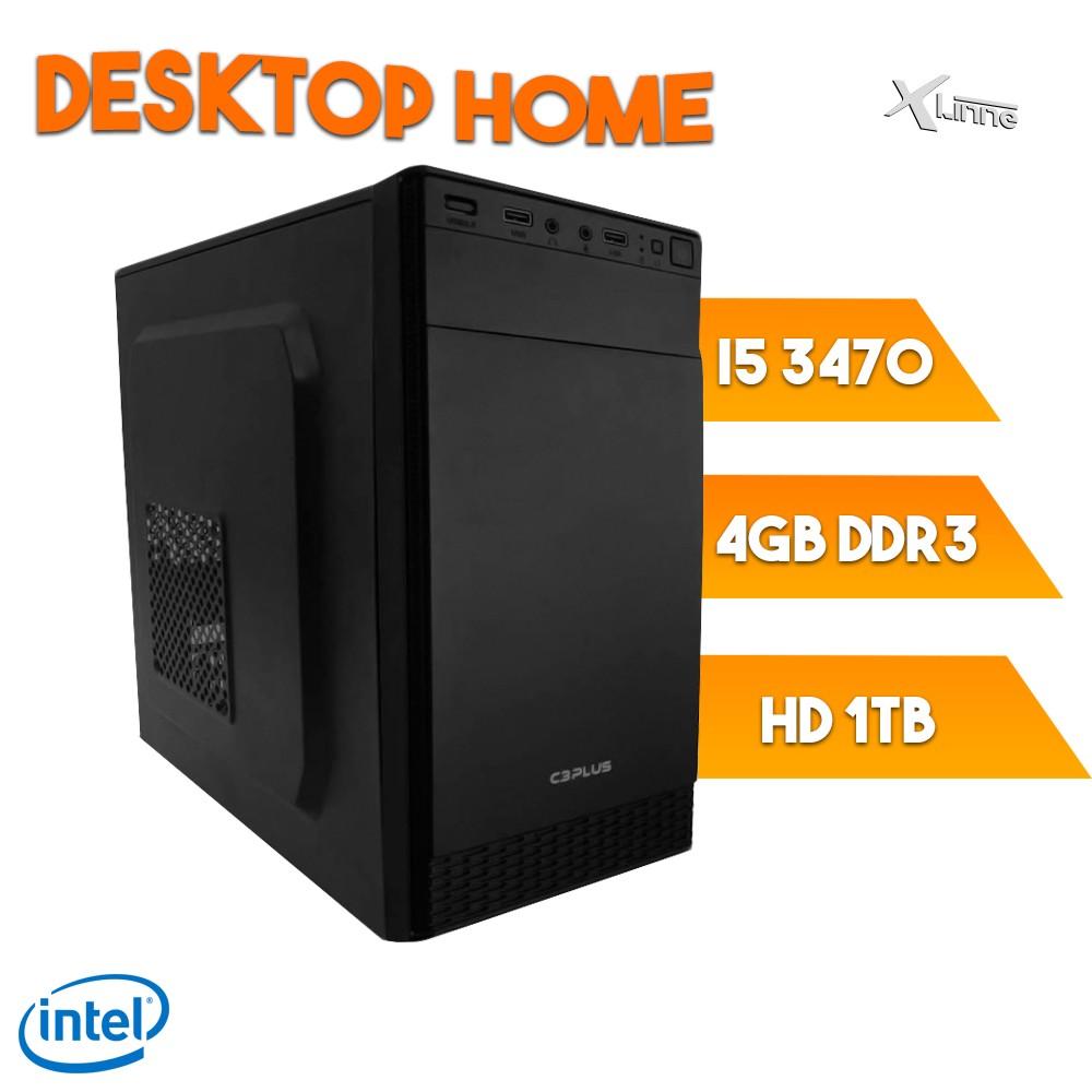 Desktop 1155 Home I5 3470 DDR3 4Gb HD 1TB X-Linne