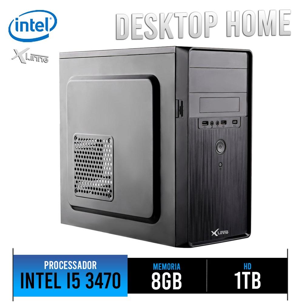 Desktop 1155 Home I5 3470 DDR3 8Gb HD 1TB X-Linne
