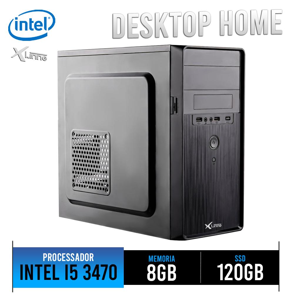 Desktop 1155 Home I5 3470 DDR3 8Gb SSD 120Gb X-Linne