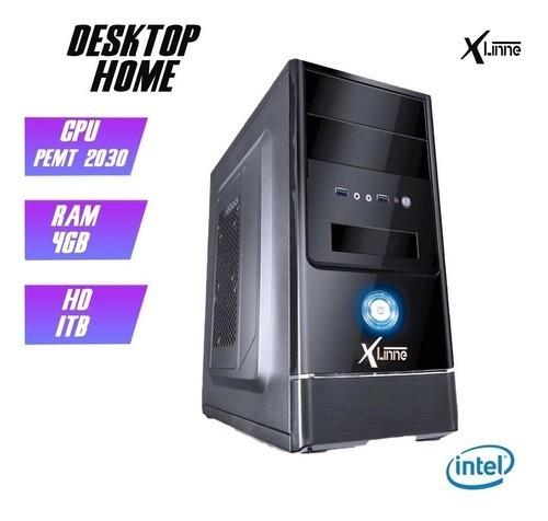 Desktop 1155 Home Pentium 2030 DDR3 4GB HD 1TB X-Linne