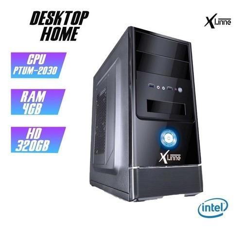 Desktop 1155 Home Pentium 2030 DDR3 4GB HD 320GB X-Linne