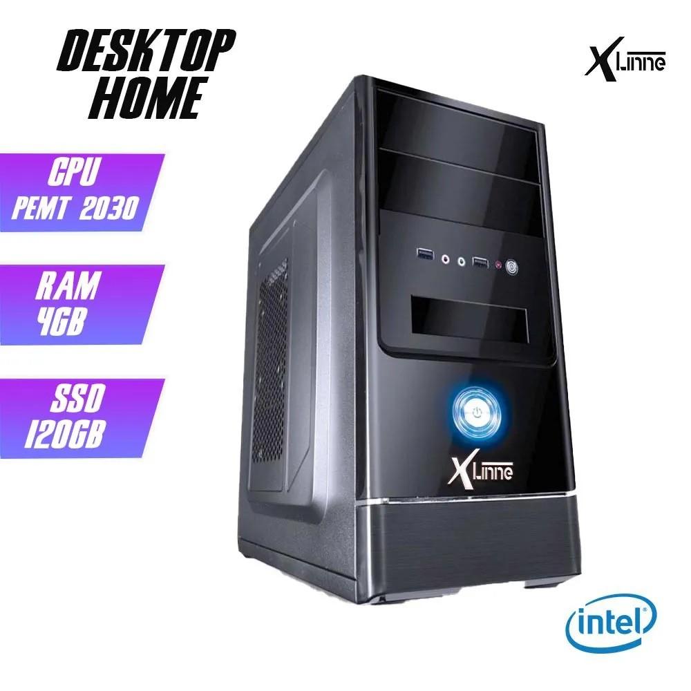 Desktop 1155 Home Pentium 2030 DDR3 4GB SSD 120GB X-Linne