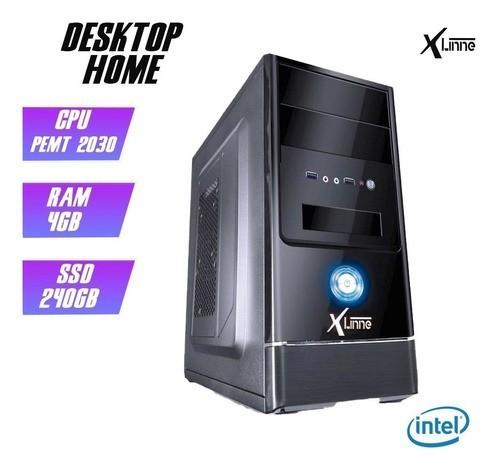 Desktop 1155 Home Pentium 2030 DDR3 4GB SSD 240GB X-Linne