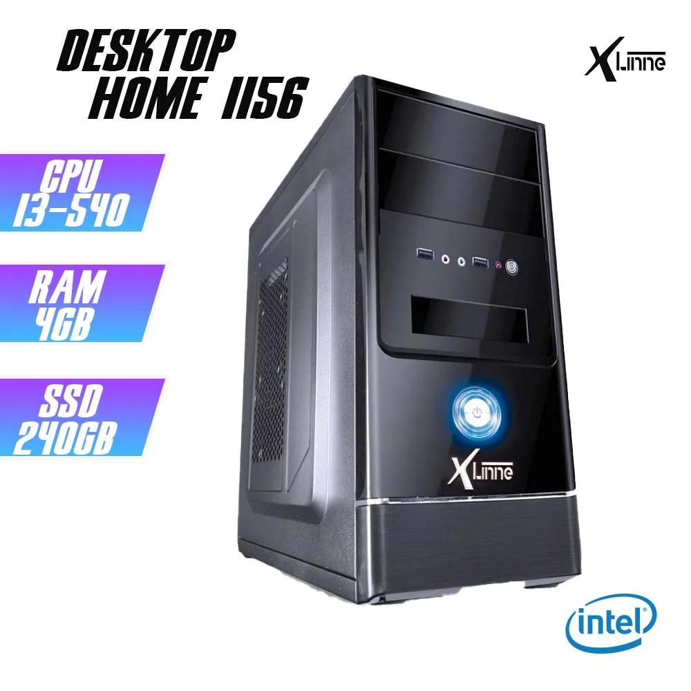 Desktop 1156 Home I3 540 DDR3 4Gb HD 240GB X-Linne