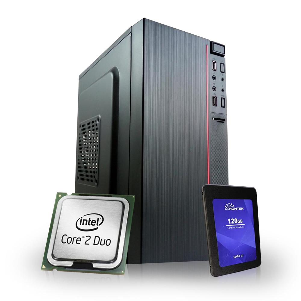 Desktop 775 Home C2D 4GB SSD 120Gb X-Linne