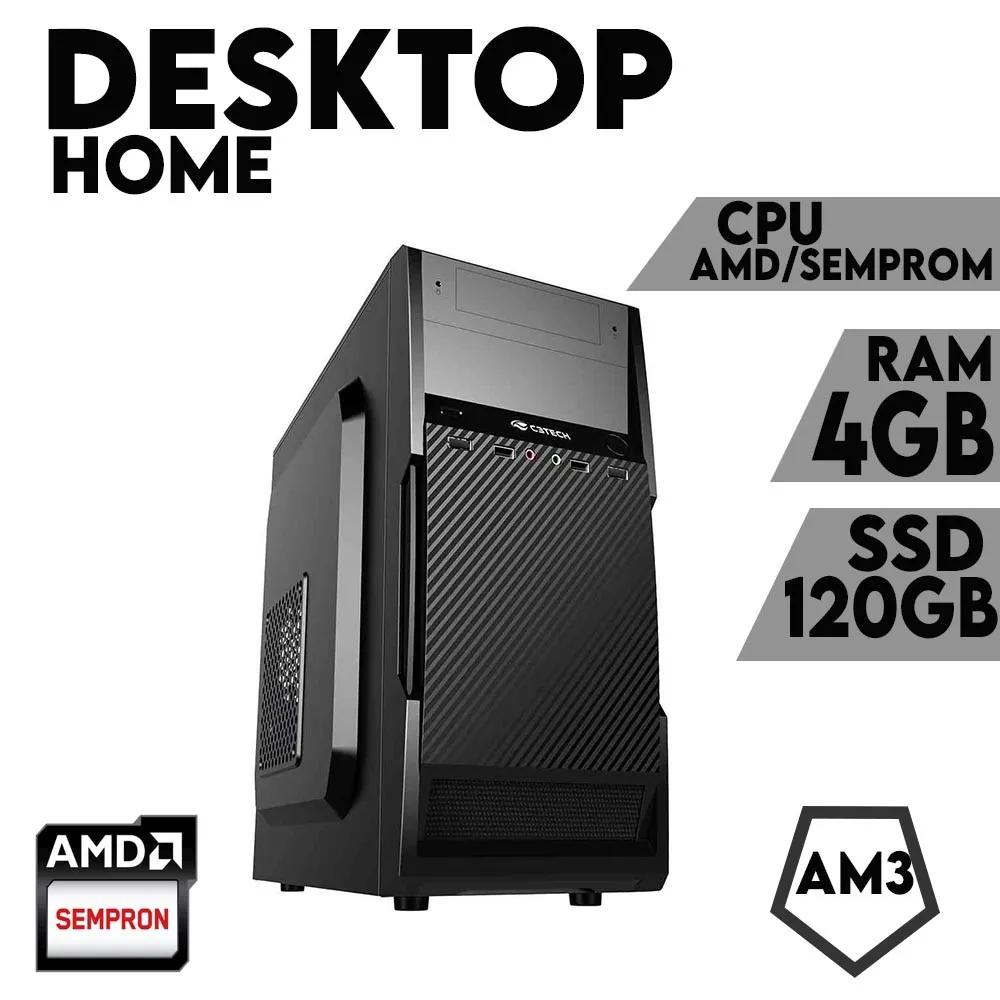 Desktop AM3 Home Sempron DDR3 4GB SSD 120GB X-Linne