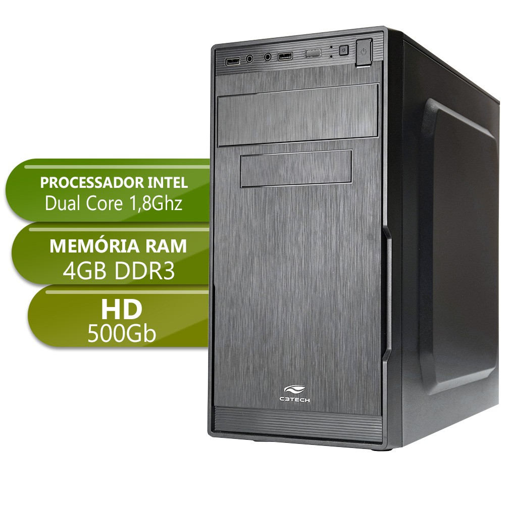 Desktop Integrado Home IPX 1800 DDR3 4gb 500gb X-Linne