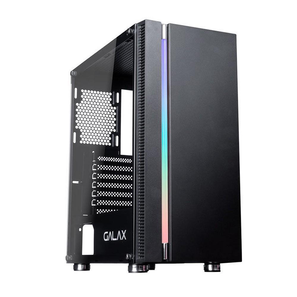 Gabinete Galax Quasar Preto s/ Fonte GX600