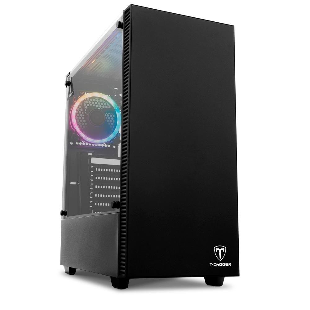 Gabinete Gamer Cube TGC305 Black s/ Fonte T-Dagger