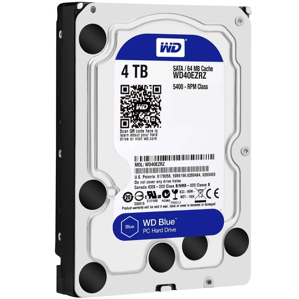 HD PC 4TB Sata WD40EZRZ Blue Wester Digital