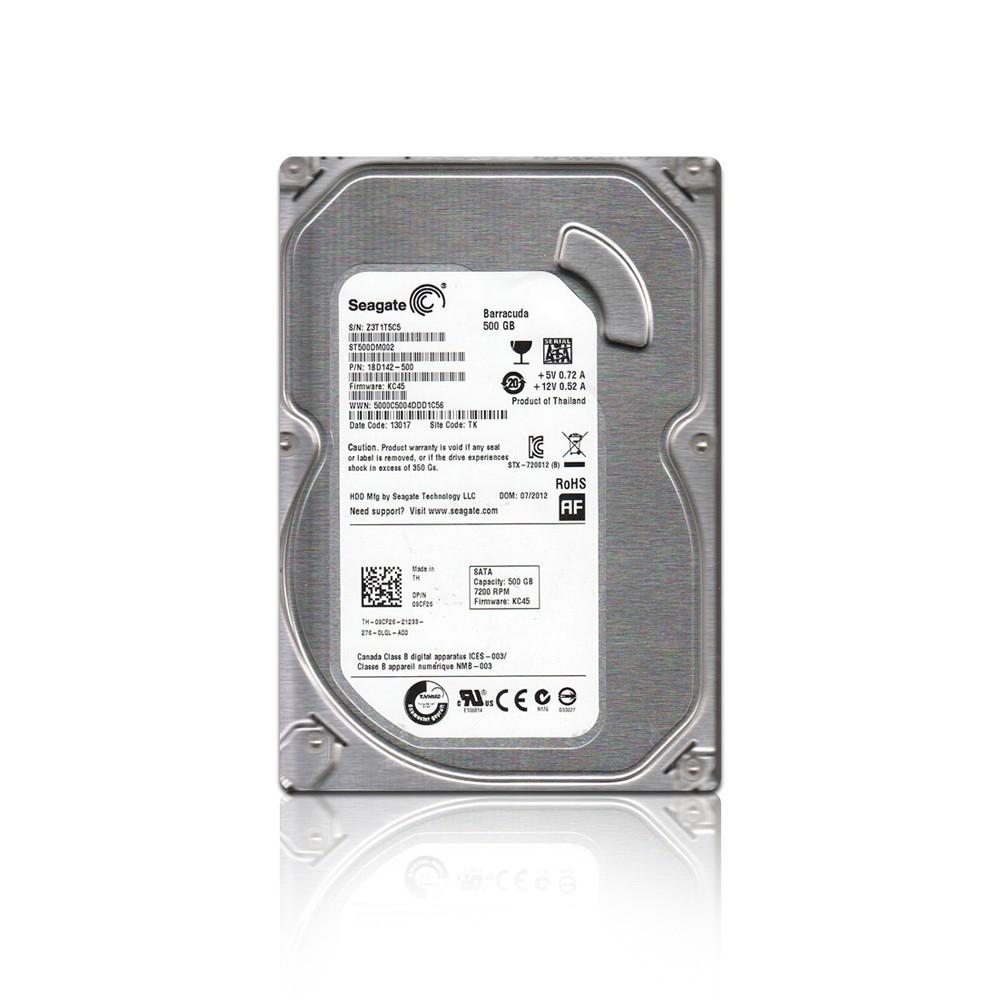 HD PC 500GB 5900rpm Seagate.