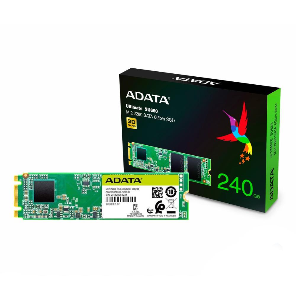 HD SSD 240GB M.2 PCIe ULTIMATE SU650 ASU650NS38-240GT-C A-Data