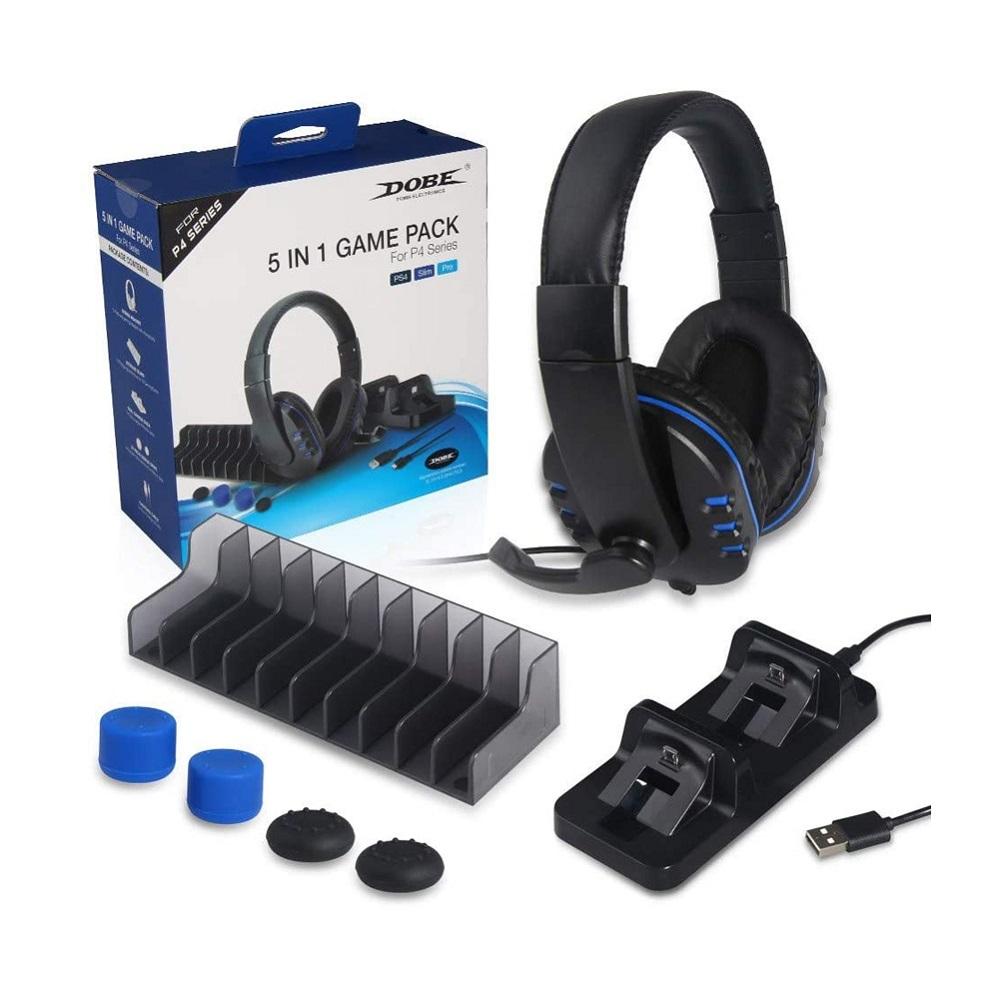 Headphone 5 in 1 PS4 Slim Pro PC 7 & Z